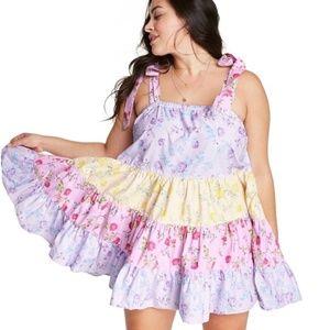 LoveShackFancy x Target Jeanne Floral Mini Dress
